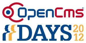 OpenCms Days 2012 - September 24 to September 25, 2012