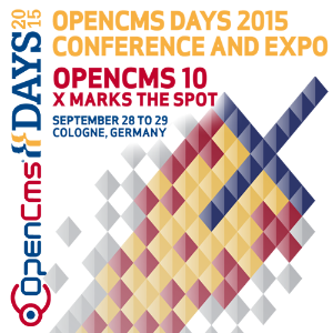 OpenCms Days 2015 - September 28 to September 29, 2015